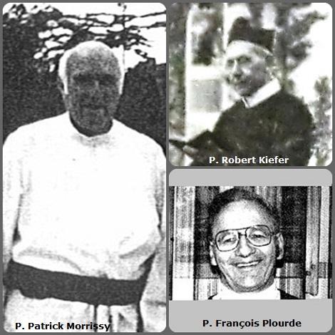 Tra i 24 defunti di oggi 2 gennaio di cui 3 italiani, l'immagine mostra 3 Redentoristi: l'americano P. Patrick Morrissy (1929-2004); il tedesco P. Robert Kiefer (1855-1928) e il canadese P. François Plourde (1934-1984).