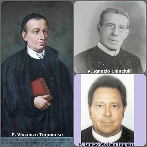 Tra i 38 defunti di oggi 17 gennaio, di cui 4 italiani, l'immagine mostra 3 Redentoristi: gli italiani P. Vincenzo Trapanese, già Rettore Maggiore, (1801-1856) e P. Ignazio Cianciulli (1874-1963); il brasiliano P. Inácio Stefani Tagliari (1940-2013).