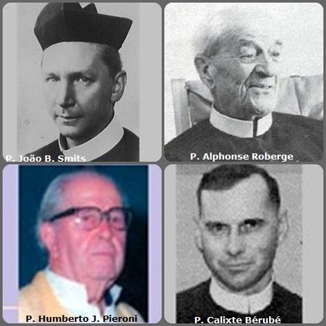 Tra i 35 defunti di oggi 24 gennaio, di cui 3 italiani, l'immagine presenta 4 Redentoristi: l'olandese P. João Bautista Smits (1878-1956), missionario in Brasile; il canadese P. Alphonse Roberge (1886-1980); il brasiliano P. Humberto Jorge Pieroni (1915-2005) e il canadese P. Calixte Bérubé (1914-2007), missionario in Vietnam.