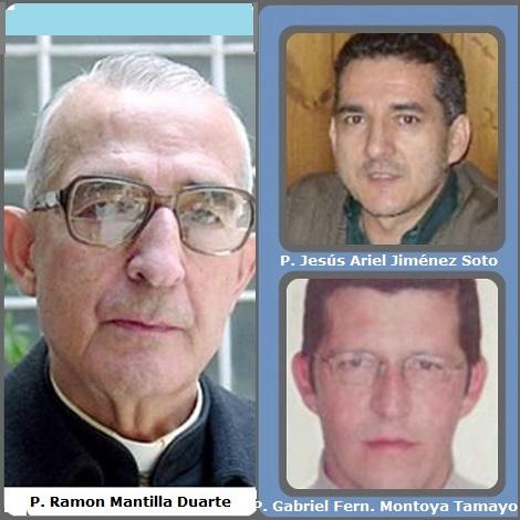 Tra i 33 defunti di oggi 16 marzo, di cui 1 italiano l'immagine presenta tre Redentoristi colombiani: il vescovo Ramon Mantilla Duarte (1925-2009) e due giovani sacerdoti uccisi e rapinati del soldi della Scuola gestita dai Missionari: P. Jesús Ariel Jiménez Soto (1963-2009) e P. Gabriel Fernando Montoya Tamayo (1967-2009).