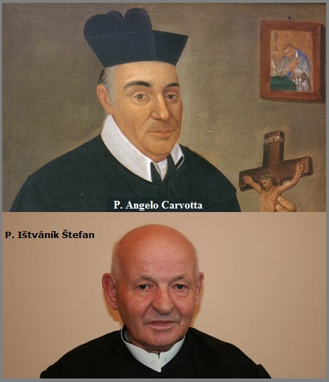 Tra i 27 defunti di oggi 12 agosto, di cui 1 italiano l'immagine mostra due Redentoristi: l'italiano P. Angelo Carvotta (1785-1851) e lo slovacco di rito greco-cattolico P. Ištváník Štefan (1929-2013).