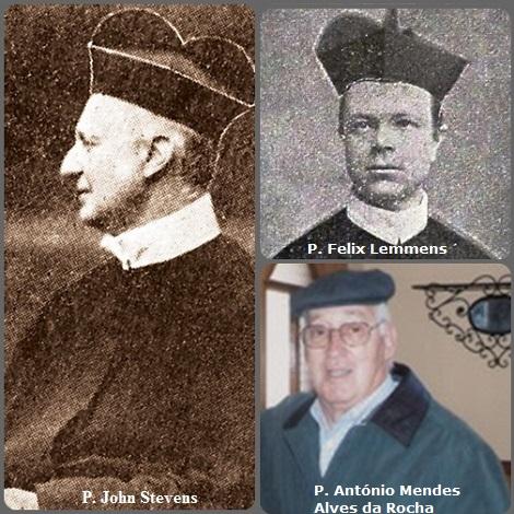 Tra i 24 defunti di oggi 19 settembre, di cui nessuno italiano, l'immagine mostra 3 Redentoristi: l'inglese P. John Stevens (1829-1899), l'olandese P. Felix Lemmens (1850-1906) e il portoghese P. António Mendes Alves da Rocha (1925-2013).