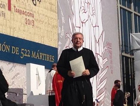Il Postulatore Generale dei Redentoristi, P. Antonio Marrazzo, ha presentato l'identità dei Martiri Redentoristi.