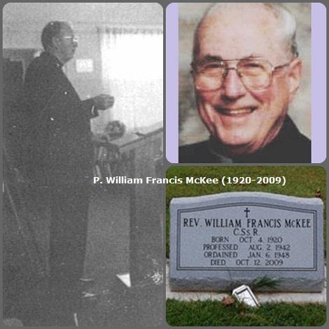 Tra i 28 defunti di oggi 12 ottobre, di cui 2 italiani, l'immagine mostra un solo Redentorista: l'americano William Francis McKee (1920-2009).
