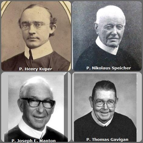 Tra i 47 defunti di oggi 9 novembre, di cui 8 italiani, l'immagine mostra 4 Redentoristi: il tedesco P. Henry Kuper (1842-1887) trasferito in USA; il lussemburghese P. Nikolaus Speicher (1844-1929); gli americani P. Joseph Eugene Manton (1904-1998) e P. Thomas Gavigan (1934-2005) e lo spagnolo P. Pedro Pérez Núñez (1931-2013).