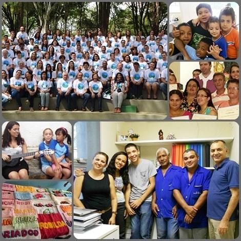 Belo Horizonte, Brasile 2013 - Il primo Congresso Sociale Redentorista del Brasilesi è svolto in una grande clima di gioia per la comune vocazione condivisa e le diverse esperienze che hanno arricchito i 110 rappresentanti intervenuti.