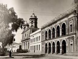 Tupiza, Potosí (Bolivia) - Chiesa redentorista dedicata alla Madonna del Monte Carmelo nel 1928 (foto in AGHR).