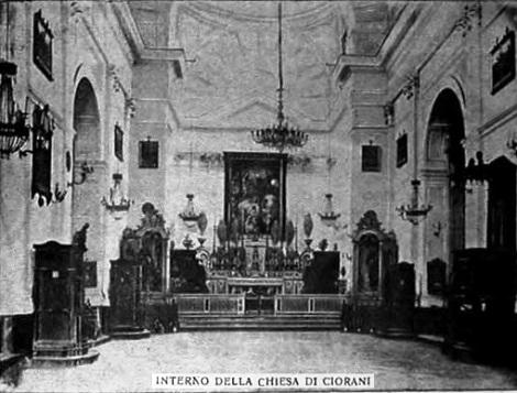 La chiesa della SS. Trinità in Ciorani. L'annata del Periodico dedica il numero 10-11 al Secondo Centenario della fondazione della storica Casa rdentorista.