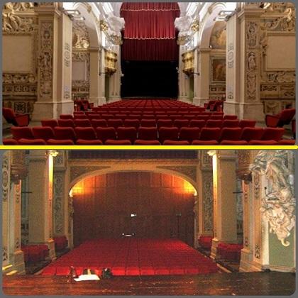 La chiesa di S. Filippo Neri a L'Aquila oggi è diventata un Teatro. - I Redentoristi vi avevavo officiato fino al 1866.