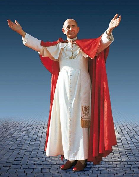 Domenica 19 ottobre 2014  in Piazza San Pietro Paolo VI è stato dichiarato BEATO!