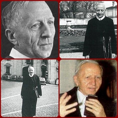 Il redentorista P. Bernhard Häring, C.Ss.R. della Provincia di Monaco in Germania, professore all'Accademia Alfonsiana in Roma.