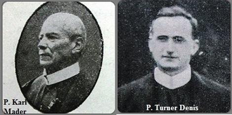 Tra i 30 defunti di oggi 8 settembre, di cui 2 italiani, l'immagine mostra 2 Redentoristi: l'austriaco P. Karl Mader (1840-1925) e l'irlandese P. Turner Denis (1874-1926).