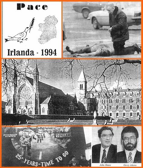 Questo numero 112 presenta in otto pagine, testo e foto, il servizio di P. Patrick Cunning, C.Ss.R. che ricostruisce il processo di pace nell'Irlanda martoriata dalla guerra civile. In questo processo i Redentoristi hanno avuto un ruolo importante.