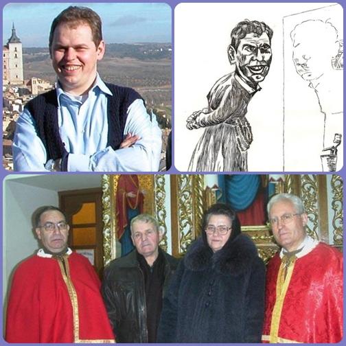 Il redentorista P. Ihor Mychaliak era un bravo disegnatore, con vena umoristica. – Nella foto: i suoi genitori in Ucraina.