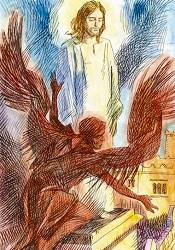 Il diavolo tenta Gesù