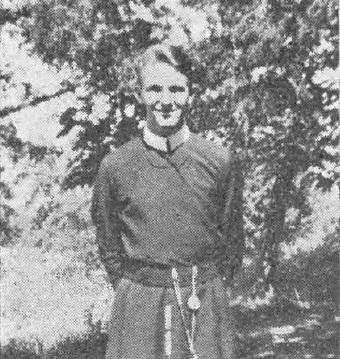 Il redentorista Novizio Francis X. Van Leuvenhage C.Ss.R. 1915-1936  USA, della Provincia di Saint Louis. Morto a ventuno anni.
