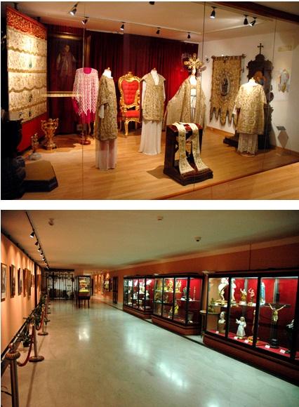 Due sale del Museo Gerardino a Materdomini (foto dal sito del Santuario).