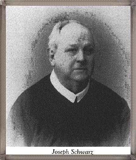 Tra i 36 defunti di oggi 31 gennaio, di cui 2 italiani, l'immagine presenta il solo americano P. Joseph Schwarz (1849-1927).