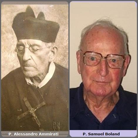 Tra i 28 defunti di oggi, 4 febbraio, di cui 2 italiani l'immagine mostra 2 Redentoristi: l'italiano: P. Alessandro Ammirati (1815-1896) e l'australiano P. Samuel Boland (1922-2011).