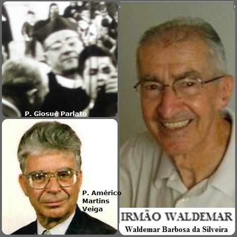 Tra i 33 defunti di oggi 2 agosto, di cui 4 italiani l'immagine mostra 3 Redentoristi: l'italiano P. Giosué Parlato (1909-1993) siciliano, il fratello brasiliano Waldemar Barbosa da Silveira (1929-2011) e il portoghese P. Américo Martins Veiga (1933-2013).