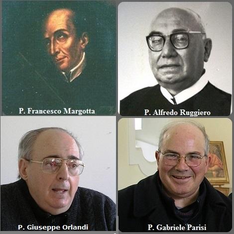 Tra i 34 defunti di oggi 11 agosto, di cui 5 italiani l'immagine mostra 4 redentoristi: gli italiani P Francesco Margotta (1699-1764), P. Alfredo Ruggiero (1910-1982)e P. Gabriele Parisi (1936-2011) e P. Giuseppe Orlando (1935-2013).