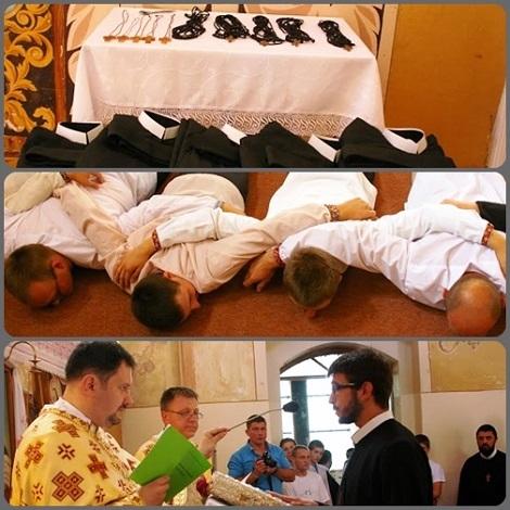 2013 – Lviv, Ucraina – In una solenne celebrazione presieduta dal Padre Provinciale 23 giovani redentoristi hanno fatto un passo avanti nel loro cammino vocazionale; chi ha fatto la vestizione, chi la professione dei voti temporanei e chi i voti perpetui insieme al giuramento di perseveranza. Una vera primavera nella Congregazione e nella Chiesa!