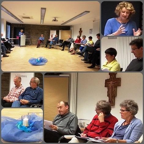 2013 - Waldbreitbach [Germania]. Redentoristi e Laici Collaboratori insieme per un Forum pastorale: Unire le differenze: evangelizzazione come costruzione di ponti. La teologa Prof. Manuela Kalsky ha guidato le riflessioni.