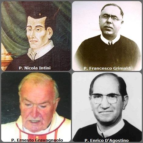 Tra i 30 defunti di oggi 29 settembre, di cui 4 italiani, due immagini mostrano 7 Redentoristi. La prima immagine mostra 4 italiani: P. Nicola Intini (1824-1853); P. Francesco Grimaldi (1887-1959); P. Ernesto Gravagnuolo (1915-2005) e P. Enrico D'Agostino (1927-2010).