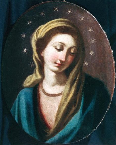 La Madonna di S. Alfonso - Tela nel Museo Alfonsiano di Pagani.