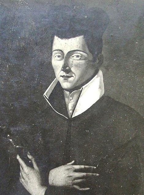 Antica immagine del Diacono redentorista Francesco Pascali che nacque in Montella da nobile famiglia, entrò tra i Redentoristi e consumò la sua giovane vita nella penitenza e nell'amore.