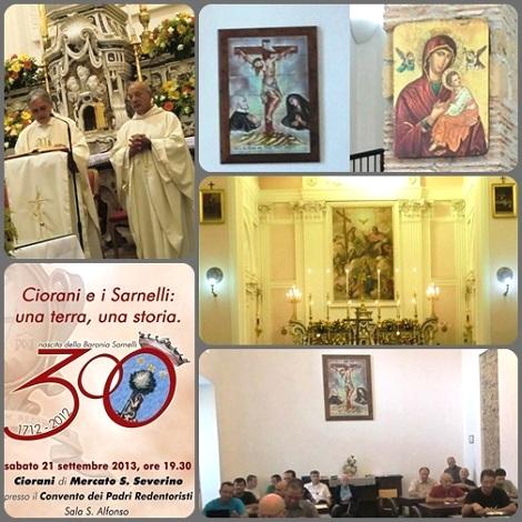 La Casa Madre Redentorista Ciorani (SA) ha ospitato il primo turno dei ritiri annuali 2013 dei Redentoristi italiani.
