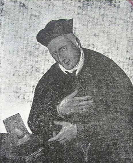 Antica immagine di P. Giovanni Rizzi, redentorista dalla coscienza molto delicata; emanava un'aria spirituale dalla sua persona e perciò era ricercato quale confessore e direttore di spirito.