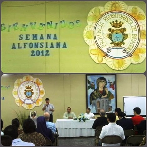 La Semana Alfonsiana del 2012 in Paraguay. Una iniziativa che riecheggia quella di Palermo, giunta ormai alla 19.ma edizione. E' sempre S. Alfonso l'ispiratore di queste iniziative.