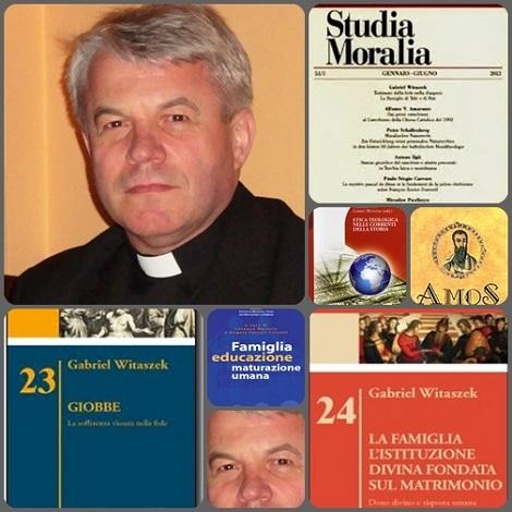 P. Gabriel Witaszek, redentorista polacco, esperto in studi biblici e professore ordinario presso l'Accademia Alfonsiana, ha tenuto le meditazioni.
