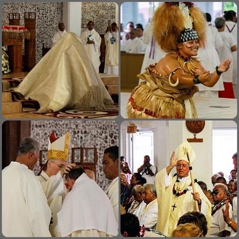 2013 – L'Ordinazione Episcopale di Peter Brown, C.Ss.R., ha avuto luogo il 22 agosto nella Cattedrale della Santa Famiglia, nella Diocesi di Samoa-Pago Pago, accompagnata dai gesti della cultura samoana e dalla presenza fraterna di vescovi, sacerdoti, confratelli e fedeli.