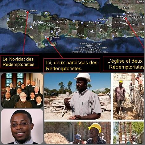 2013 – Haiti -  Continua la ricostruzione materiale e spirituale, grazie all'aiuto delle altre Unità della Congregazione, prima fra tutte la Provincia-madre di Baltimora: giovani redentoristi sono pronti a subentrare nell'apostolato nell'isola devastata dal terremoto.