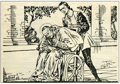 Fratello Alessio Pollio era un calzolaio di Napoli. Entrò a servizio di Mons. Alfonso de liguori, il quale volle che si sposasse. Morta la moglie e sistemata la figli nel Monastero di S. Agata prese l' abito redentorista, seguendo il santo vescovo a Pagani, dove morì santamente.