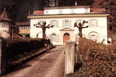 Friburgo, Casa redentorista, dove terminò la sua giovane vita lo studente xxxxxx