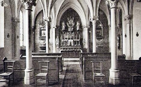 La Cappella della Casa redentorista di Saint Nicolas-du-port, da dove partiva in missione il P. François Fasel.