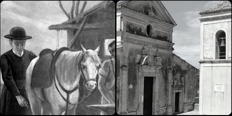Il nome di Valva, paese dove nacque fratello Pasquale Grasso, non ricorre nelle biografie di San Gerardo; ma la sua fama vi era arrivata; ed è facile immaginare che il Santo sia giunto fin lì nei suoi viaggi a cavallo. Il montaggio della foto mostra San Gerardo e la chiesa di San Giacomo a Valva.