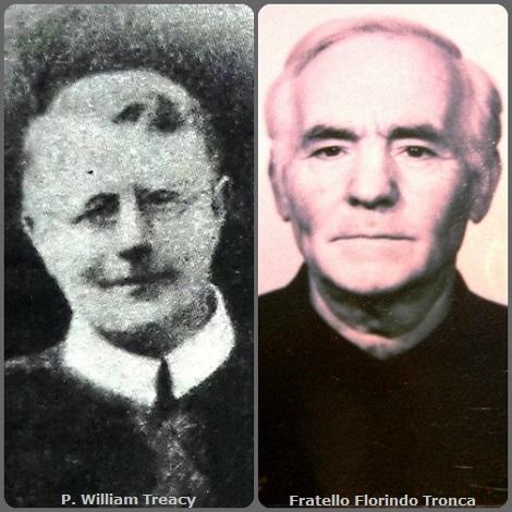 Tra i 42 defunti di oggi 5 novembre, di cui 3 italiani, l'immagine mostra 2 Redentoristi: l'irlandese P. William Treacy (1885-1931) e l'italiano Fratello Florindo Tronca (1912-1991).
