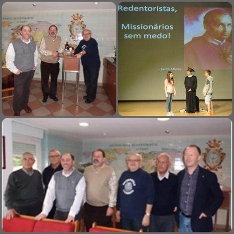 2013 – Portogallo – Il P. Provinciale António Marinho con i Padri Visitatori Padri Enrique López e Alberto Eseverri e tutto il Consiglio Provinciale: affrontare il futuro senza timore, proprio da missionari redentoristi.