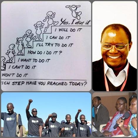 """2013 – Namibia – Il P. William Guri, redentorista dello Zimbabwe, partecipa attivamente alle campagne di studio e di osservazione su comportamenti umani deviati causati da malattie, soprattutto in relazione al virus HIV/Aids. Egli afferma la convizione sul concetto di """"mascolinità in grado di cambiare"""" e di conseguenza: """"Come Redentorista, credo che la """"mascolinità in grado di cambiare"""" è  """"mascolinità in Redenzione""""."""