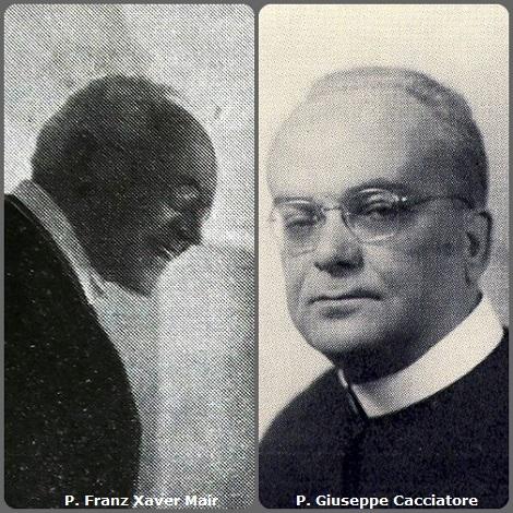 Tra i 36 defunti di oggi 20 novembre, di cui 7 italiani, l'immagine mostra 2 Redentoristi: l'austriaco P. Franz Xaver Mair (1852-1933) e l'italiano P. Giuseppe Cacciatore (1907-1977).