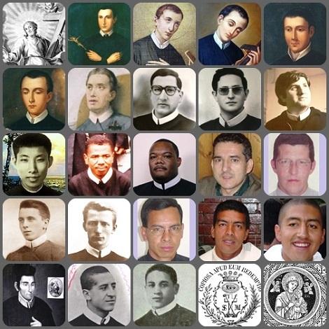 2013 – Schiera di Missionari Redentoristi del mondo morti in giovane età, impegnati a vivere la loro vocazione e a dare la propria vita per l'abbondante Redenzione. Di molti altri non si hanno immagini.