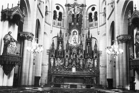 La chiesa redentorista di Dunkerque: qui fu portato a morire Fratello Mathieu ferito in battaglia.