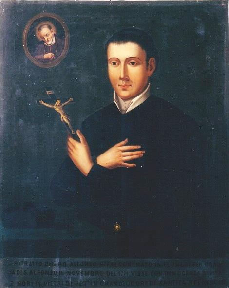 P. Alfonso M. Falcone, giovane sacerdote nativo di Flumeri, morì durante la missione di Vietri di Potenza, in odore di santità.