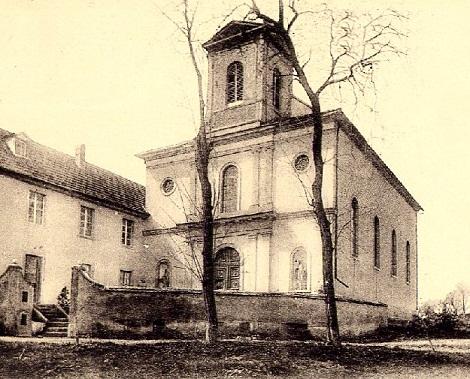 Casa redentorista di Landser in Francia nel 1924: qui morì nel 1865 il P. Jean Anderset.