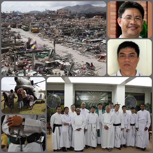 I Superiori Maggiori Redentoristi delle Filippine (P. Cruzito Manding,  Provinciale  di Cebu e P.  Ariel Lubi,  Vice-Provinciale di Manila) rivolgono ai confratelli di tutto il mondo  un'accorata richiesta di aiuto per far fronte ai danni causati dal terribile tifone Haiyan.