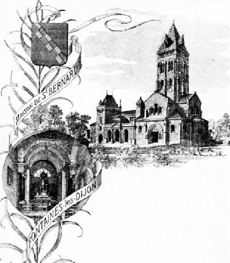 Il santuario di St.Bernard con la Casa redentorista: qui ha esercitato il ministero missionario ed è morto nel 1929 il P. Louis Périer.